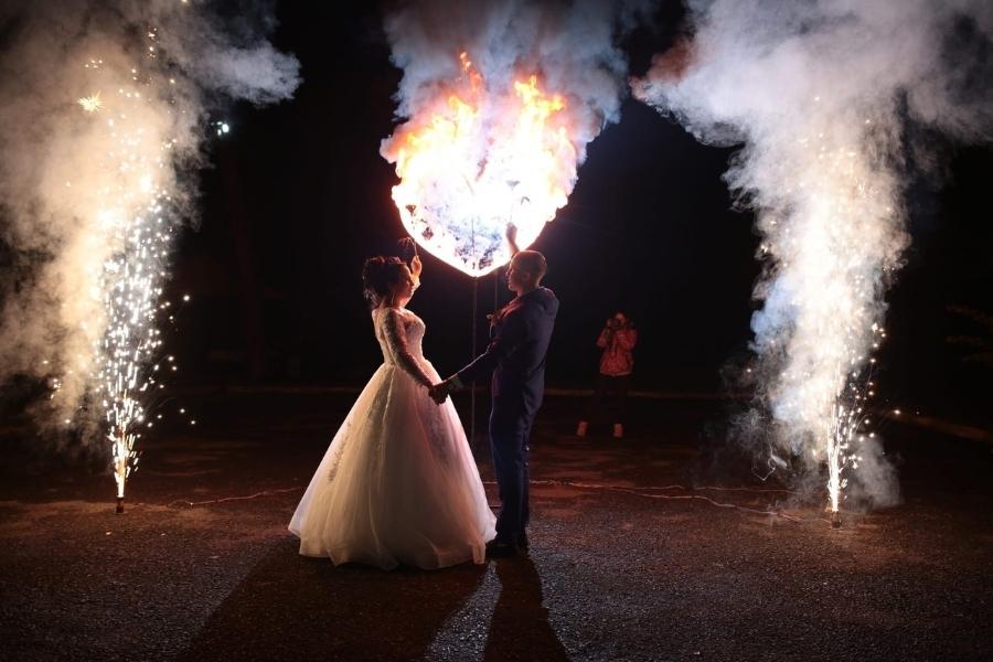 огненное шоу свадьба