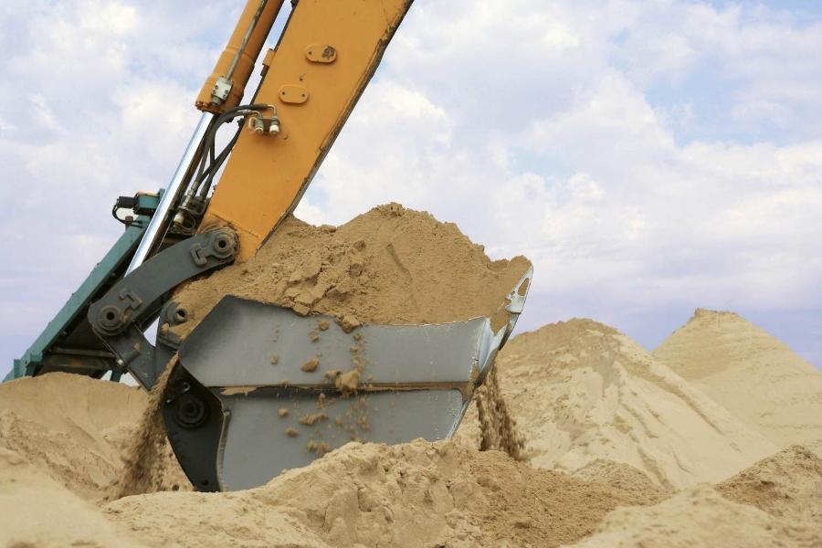 Продам песок строительный