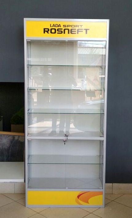 Производство прилавков и витрин под заказ
